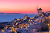 Beautiful sunset in Santorini, Greece - 156343691