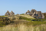 Thatched-roof summer houses at Hörnum, Sylt