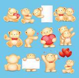 cute tactic bear icon