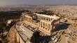 Aerial drone photo of Acropolis of Athens and the Parthenon, Attica, Greece