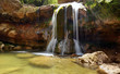 Waterfalls in the forest catalan - 156571420
