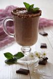 Milkshake with chocolate