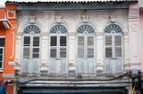 chino Portuguese windows, chino Portuguese architecture style in