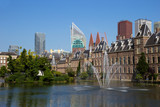 Dutch parliament building in The Hague. Netherlands - 156630429