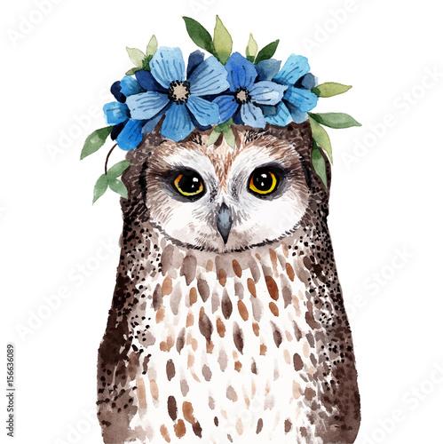 Cute watercolor illustration. - 156636089
