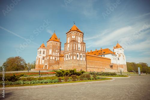 Mirskij castle. Mir. Belarus Poster