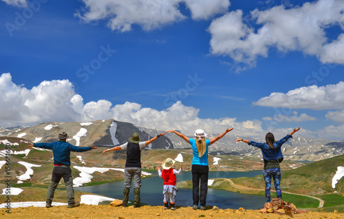 Poster doğa gezi grubu