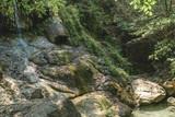 Erawan Waterfall in Kanchanaburi,Thailand.