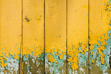 decayed yellow planks