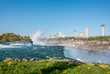 Niagara Falls waterfall with rainbow