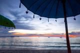 sunshade on the Bali beach