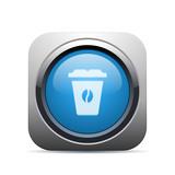 Square Push-Button - Vector