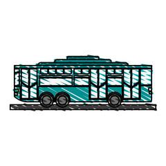 toy bus graphic icon vector illustration design sketch