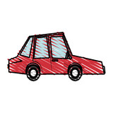 car, toy, little, vector, illustration, icon, design, graphic,