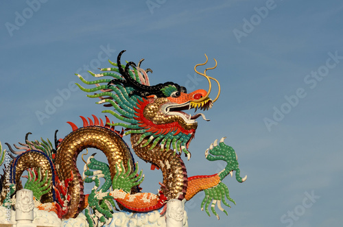 Chinese dragon image.