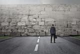 Facing a wall - 157072263