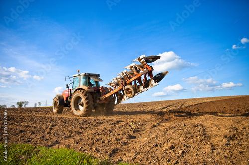 Aluminium Trekker Tracteur au champ en France