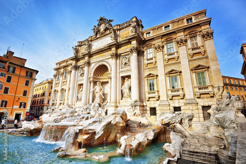 Papiers peints Rome Trevi Fountain, Rome