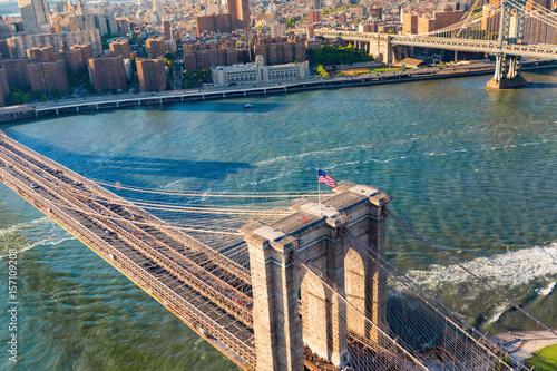 Foto op Canvas Brooklyn Bridge Brooklyn Bridge over the East River in New York