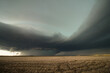 A monstrous supercell thunderstorm gathers strength over the plains of eastern Colorado.