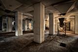 Industrie-Ruine einer Fabrik