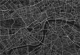 Black and white vector city map of London with well organized separated layers. - 157138223