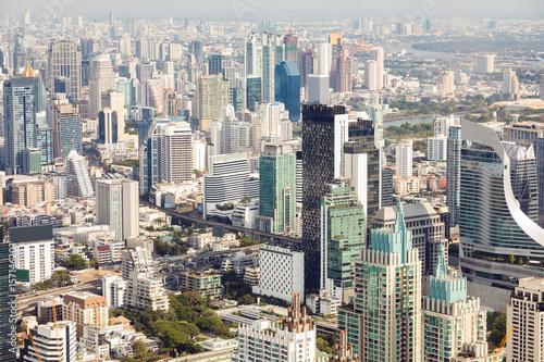 Foto op Aluminium Bangkok Bangkok Aerial View
