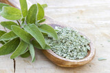 fresh and dried sage - 157171635