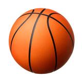 Basketball ball isolated on white background
