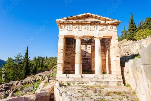 Delphi ancient sanctuary, Greece