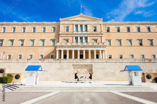 Tuinposter Athene The Hellenic Parliament building