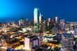 Dallas City Skyline