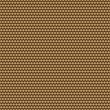 Golden seamless pattern. Line of polka dot pattern in gold. Vector.