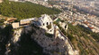 Aerial drone photo of Lycabettus hill, Athens historic center, Attica, Greece - 157236059