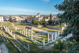 Remains of the Roman Agora in Athens, Greece - 157251422