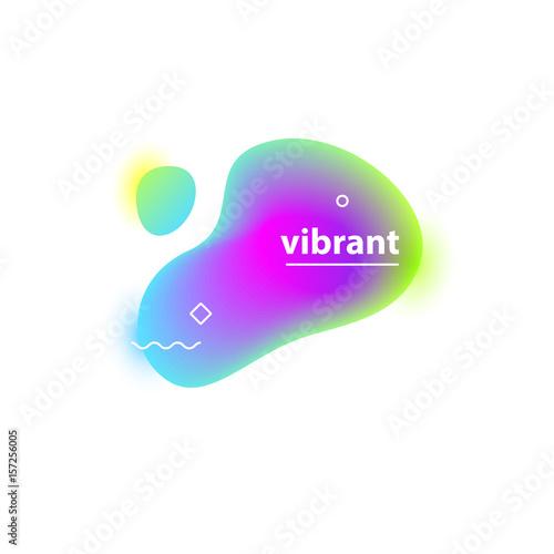 Vibrant gradient blobs - 157256005