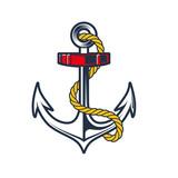 Nautical Anchor Crest