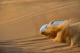 Safari in the desert.