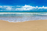 beach and tropical sea - 157264809