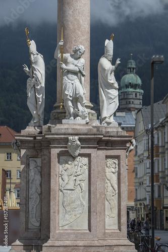 Annasäule in Innsbruck, Tirol Poster