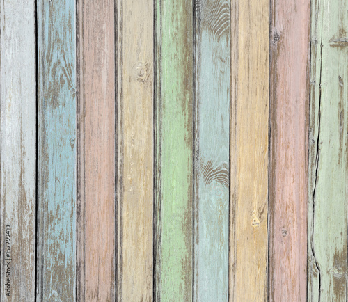 wood planks pastel colored background - 157299410