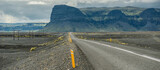 The road between Hof and Vik