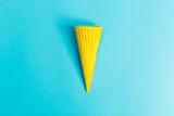 Painted ice cream cone