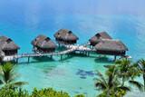 Bora Bora - (Polynésie Française) : maison sur pilotis