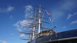 Photo of Cutty Sark British clipper in village of Greenwich, London, United Kingdom