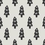 seamless tree pattern - 157377299