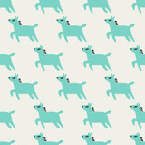 seamless pony pattern - 157377447