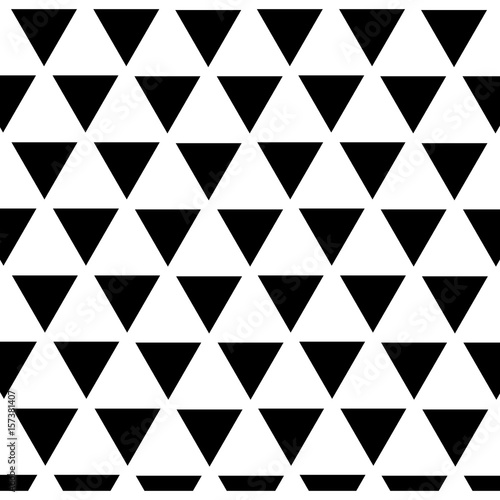 geometrical background. black and white design. vector illustration - 157381407