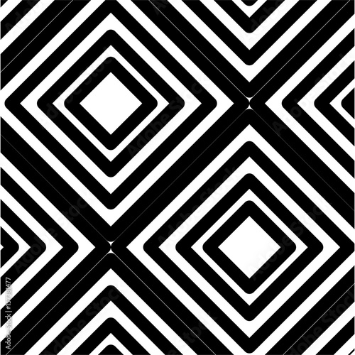 geometrical background. black and white design. vector illustration
