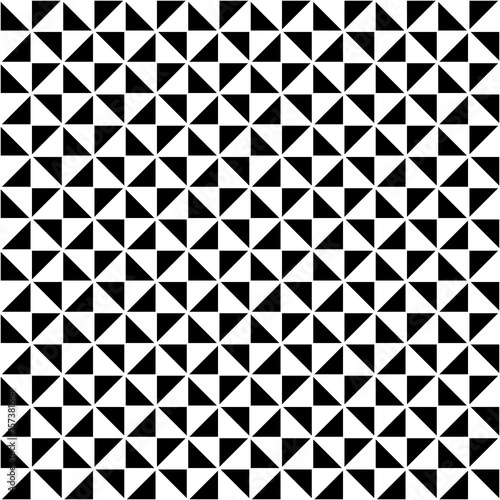 geometrical background. black and white design. vector illustration - 157381664